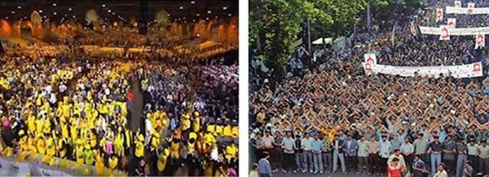 از تهران ۱۳۶۰تا پاریس امروز و چهارگوشه جهان گستره آلترناتیو مردمی