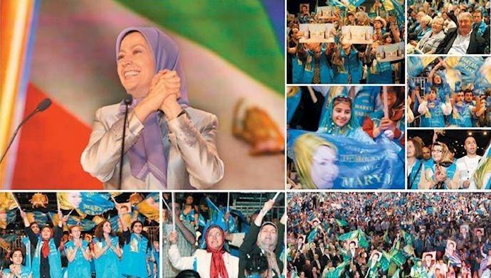 گردهمایی بزرگ ایرانیان در سال ۸۸