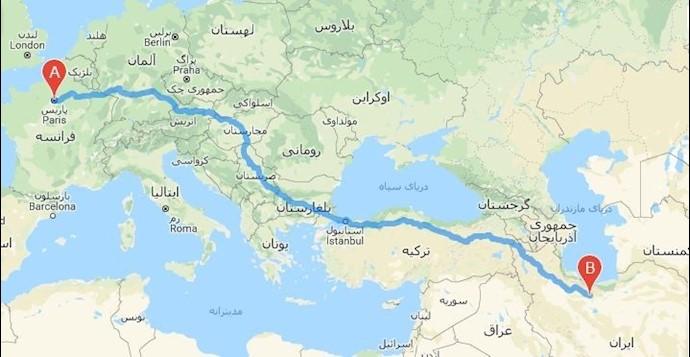 وحشت رژیم آخوندی از گردهمایی در هزاران کیلومتر دورتر از ایران