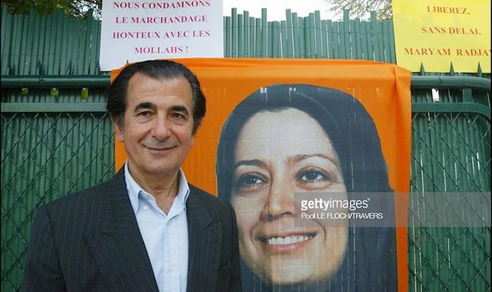 دکتر کاظم رجوی در فعالیت علیه کودتای ۱۷ژوئن ۲۰۰۳