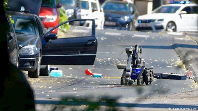 خودروی زن و مرد تروریست که در بلژیک دستگیر شدند