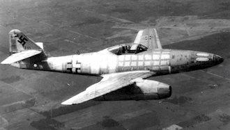 نخستین جت جنگنده که توسط آلمانها وارد میدان جنگ شد