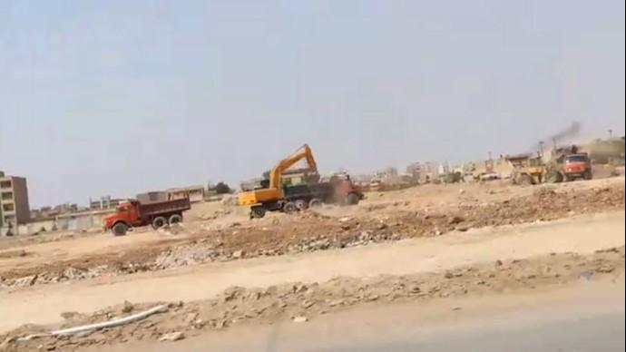 تخريب مزار شهداي قتل عام سال ۶۷  در اهواز
