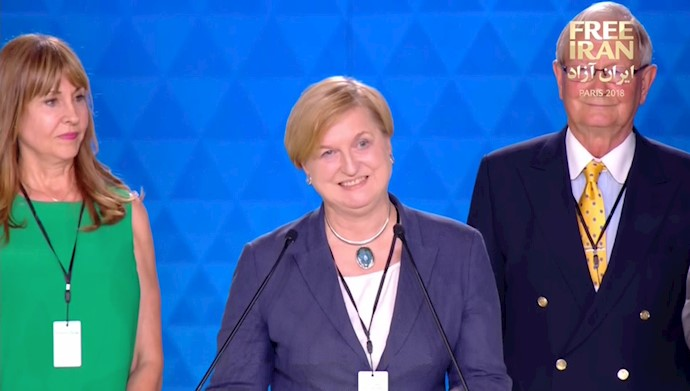 آنا فورتیکا، رئیس کمیتة امنیت و دفاع پارلمان اروپا و وزیر خارجة پیشین لهستان