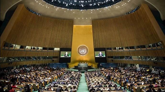 برنامه ۱۰مادهای ـ حقوقبشر و منع تبعیض ـ ۶۴قطعنامه محکومیت در پرونده حقوقبشر رژیم