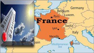 مرگ بیش از ۱۱هزار نفر در فرانسه بر اثر گرما