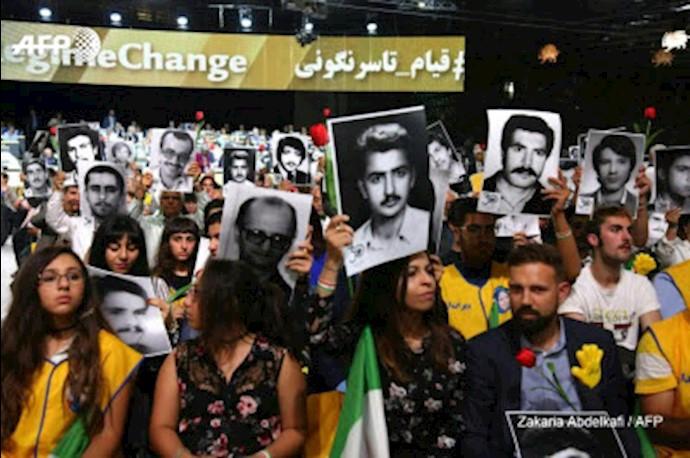 گردهمایی سالانه مقاومت ایران در پاریس