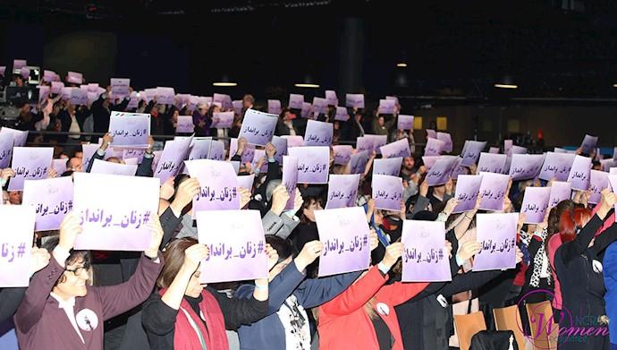 زنان برای مبارزه با رژیم  زن ستیز به مقاومت  می پیوندند