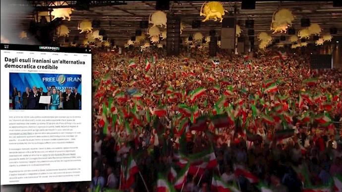 تصویری قدرتمند از ایران آزاد در گردهمایی اپوزیسیون ایران در پاریس