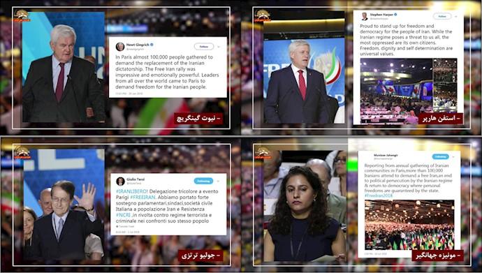 کارزار بزرگ اینترنتی در همایش بزرگ ایرانیان