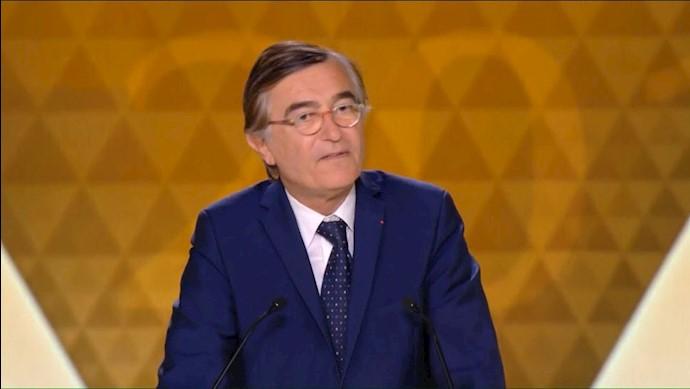 فیلیپ دوست بلازی – وزیر خارجه پیشین فرانسه در همایش ایرانیان در پاریس
