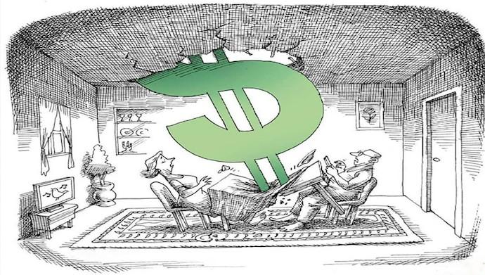 قیمت دلار به ۱۲هزار تومان رسید!