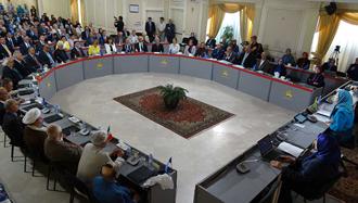 یکی از جلسات شورای ملی مقاومت ایران