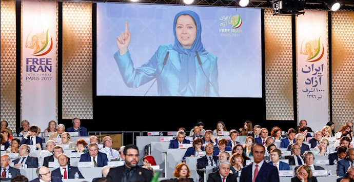 گردهمایی بزرگ ایرانیان در پاریس ۱۳۹۶