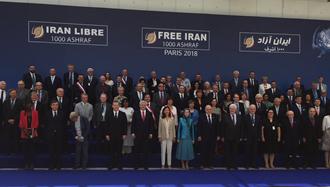 مریم رجوی - گردهمایی بزرگ ایرانیان در پاریس ۹تیر۹۷
