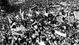 میدان بهارستان - اولین سالگرد قیام ۳۰تیر ۱۳۳۱