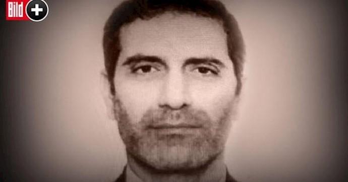 عکس تروریست دستگیر شده خامنهای که دستاندر کار حمله تروریستی به گردهمایی بزرگ ایرانیان در پاریس بود