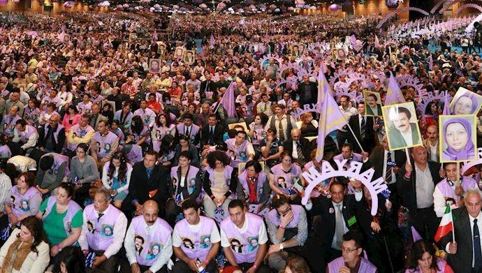 گردهمایی بزرگ مقاومت ایران - ۳تیر ۱۳۹۱
