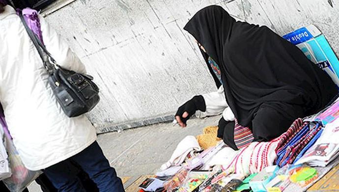زنان تحت ستم آخوندی برای تأمین زندگی به دست فروشی و.... رو میآورند