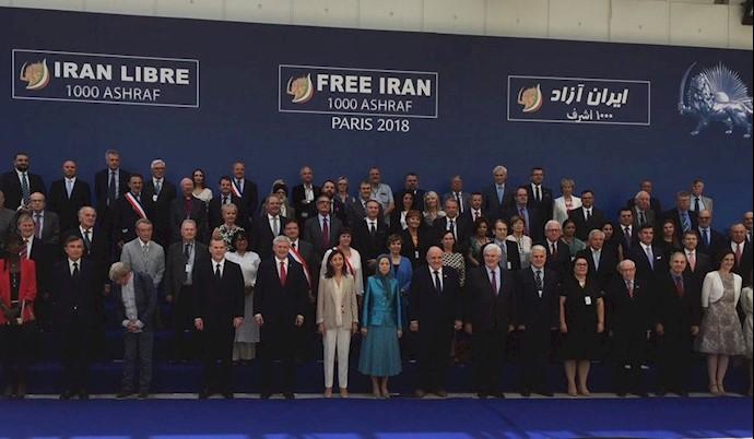 گردهمایی بزرگ ایرانیان در پاریس - نیویورک تایمز