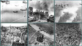 بمباران فرانکفورت در جریان جنگ جهانی