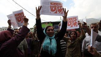 ایستادگی زنان ایران بر سر حقوقشان