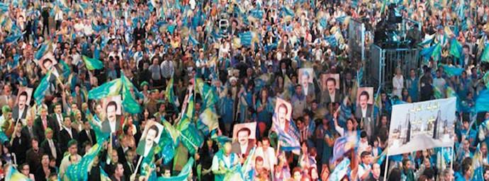 مریم رجوی - گردهمایی بزرگ مقاومت ایران - قدرت آلترناتیو