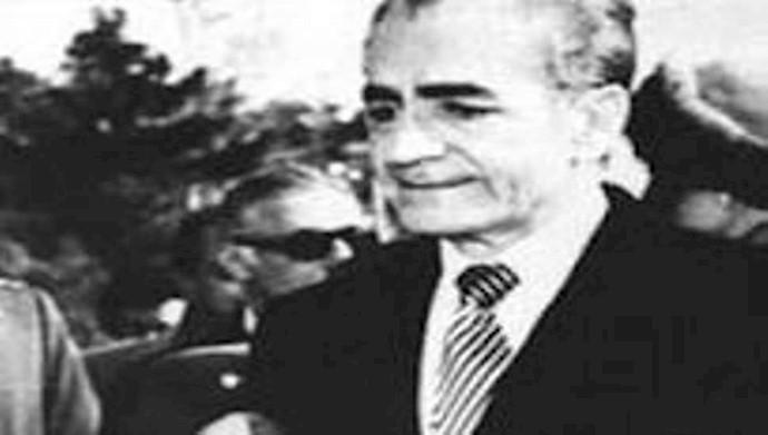 محمدرضا پهلوی دیکتاتور مخلوع ایران
