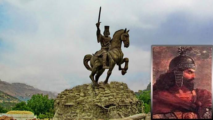 آریوبرزن، سردار دلیر ایرانی