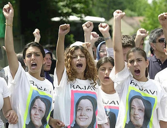 خروش جوانان علیه دستگیری مریم رجوی