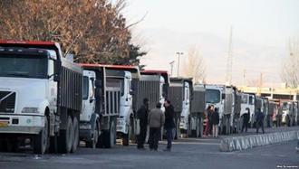 دور دوم اعتصاب سراسری رانندگان کامیون