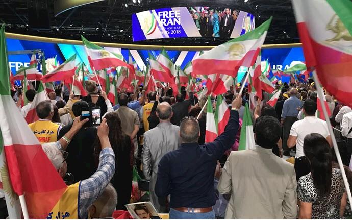 گردهمایی بزرگ مقاومت ایران در پاریس ۹تیر۹۷
