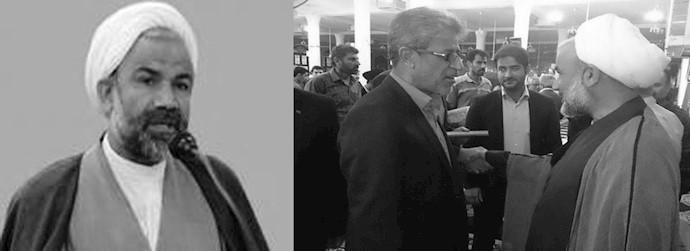 امام جمعه خامنهای در برازجان و نماینده مجلس ارتجاع از برازجان