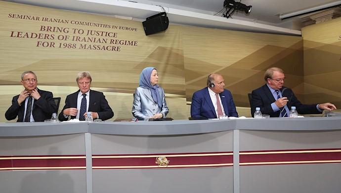 مریم رجوی ـ سمینار جوامع ایرانی در پاریس ـ ۱۳شهریور ۹۵