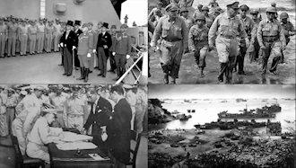 ژاپن پس از جنگ جهانی دوم به اشغال نظامی آمریکا درآمد