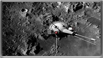 نخستین ماهوارهای که بر ماه فرود آمد