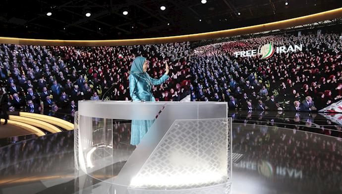 مریم رجوی ـ گردهمایی بزرگ ایرانیان