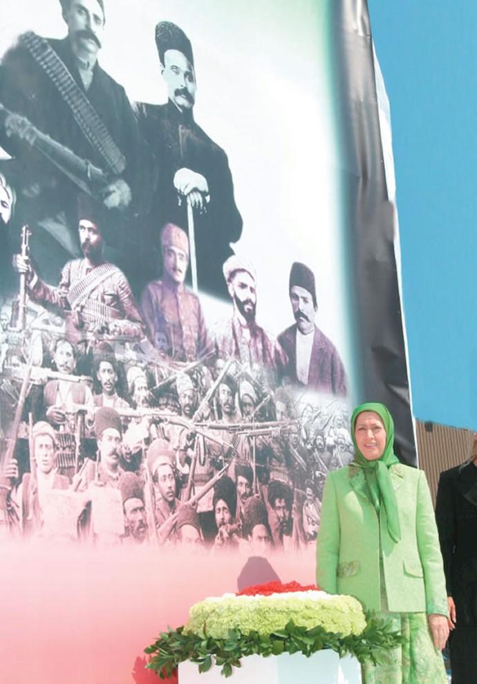 گردهمایی بزرگ ایرانیان در پاریس ـ۱۰تیر ۱۳۸۵