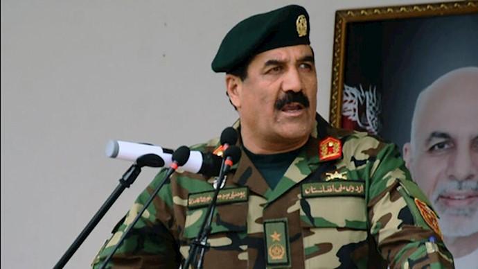 یک ژنرال ارتش افغانستان - ایران دشمن ماست