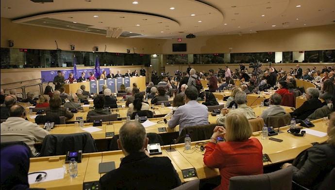 مریم رجوی در پارلمان اروپا ـ روز جهانی حقوق بشر
