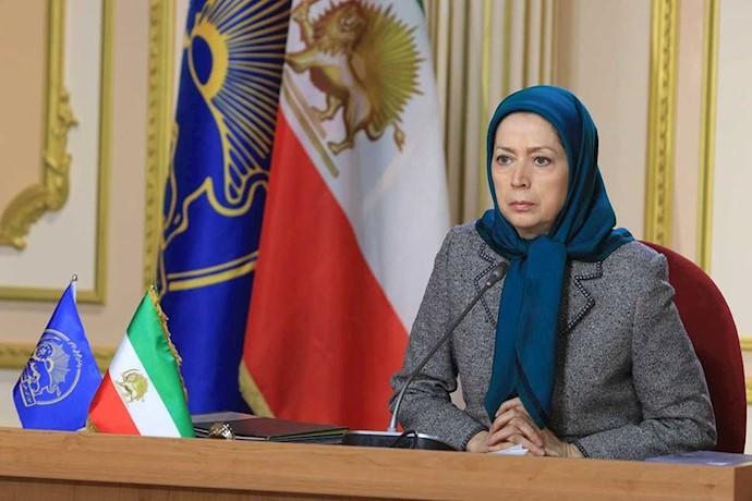 مریم رجوی ـ بررسی جنبش دادخواهی در اجلاس میاندورهیی شورای ملی مقاومت ایران