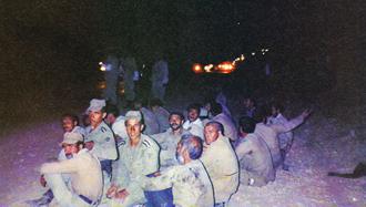 برخی از سربازان اسیرشده در عملیات کبیر فروغ جاویدان