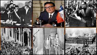 سالوادور آلنده در جریان کودتای شیلی کشته شد