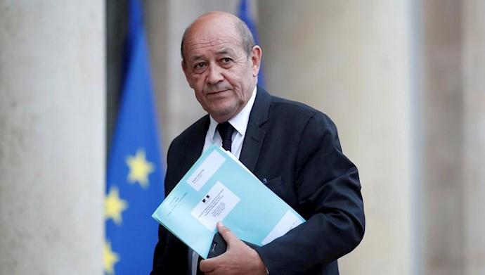 وزیر خارجه فرانسه- رژیم ایران یک نیروی خطرناک