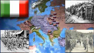 ایتالیا به آلمان در جنگ جهانی اول اعلان جنگ کرد