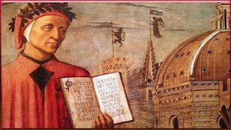 دانته شاعر مشهور ایتالیا