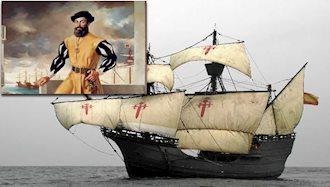بازگشت کشتی ماژلان به اسپانیا
