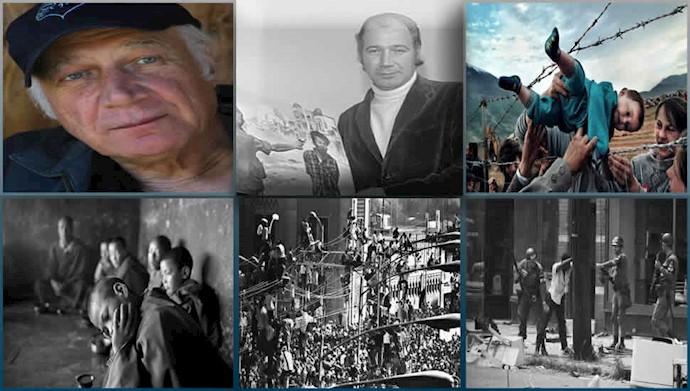 ادی آدامز خبرنگار و عکاس معروف بینالمللی