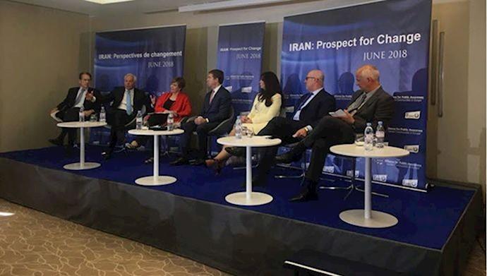 كنفرانس بينالمللي ايران، چشمانداز تغيير - سياست صحيح در قبال ايران