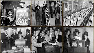 حق رأی برای زنان در آمریکا